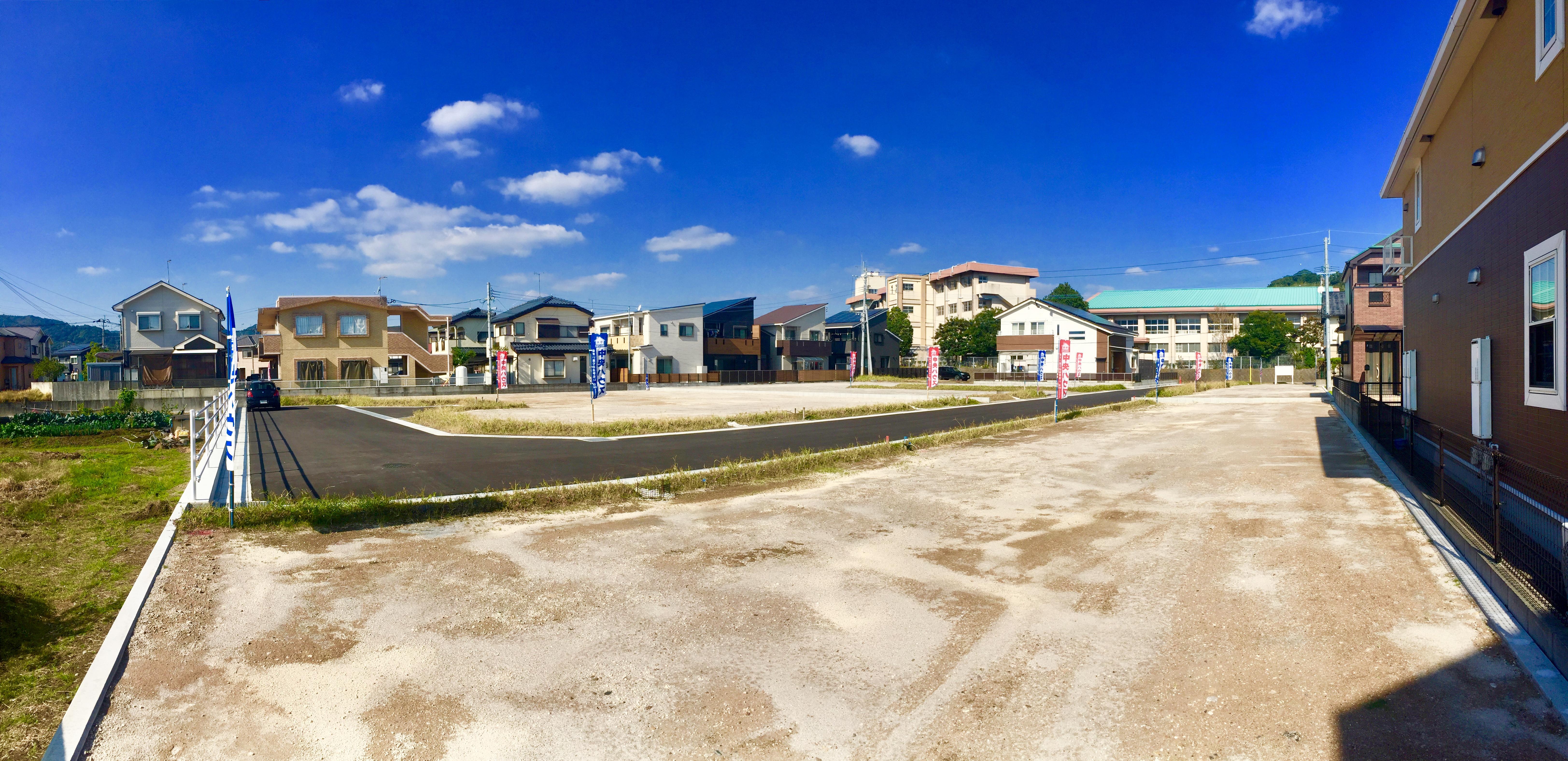 ★ニューライフ清和★ 清和小学校の横に全12区画宅地分譲中です。 いよいよ最終分譲となりました。